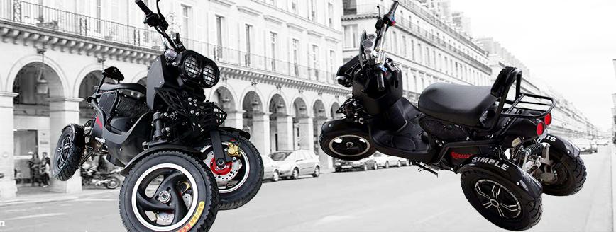 Bientôt disponible le premier scooter 100% electrique longue distance